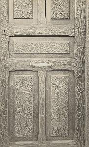 Door Study Abstract Composition Snapshot Photo 1930