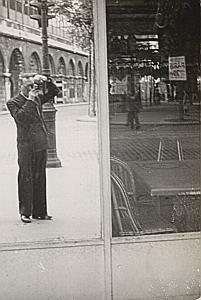 Photographer Reflection Self-portrait Snapshot 1946
