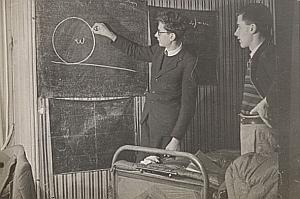 Mathematics Class Composition Paris Snapshot 1946