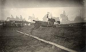 Horses Jumping Multiple Exposure Misfire Snapshot 1910