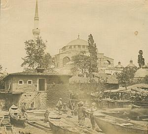 Constantinople Süleymaniye Robertson Salt Print 1854