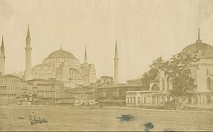 Constantinople Hagia Sophia Robertson Salt Print 1854