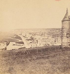 Dieppe France Old Aleo & Davanne stereo Photo 1870