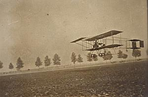 Biplan Farman Passenger Chalons Aviation Photo 1909