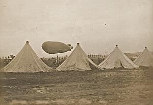 Beauval Ballooning Colonel Renard first test Photo 1909