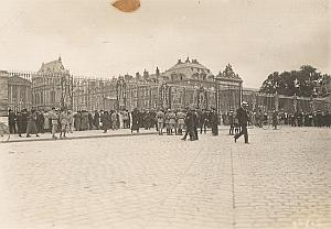 Versailles Signature Peace Treaty WWI old Photo 1919