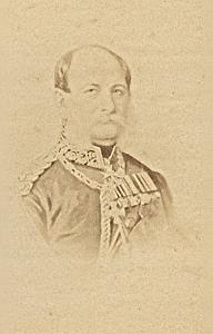Prussian King Guillaume I Old CDV Franck Photo 1870