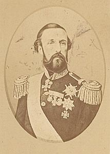 Sweden King Oscar I Old CDV Franck Photo 1870