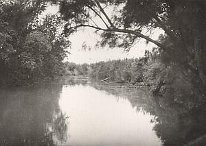 Palestine Travel Jourdain River Old Photo 1934