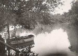 Palestine Travel Jourdain River Old Amateur Photo 1934