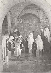 Palestine Travel St Jean Foutain Animated Photo 1934