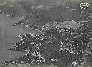Cap Ail Corniche Aerial View France Old CAF Photo 1920s