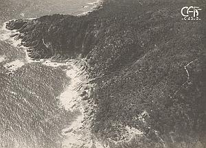 Cap Lardier Aerial View France Old CAF Photo 1920's