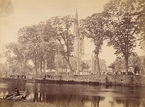 Stratford on Avon United Kingdom Old Bedford Photo 1880
