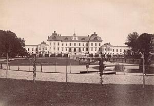 Drottningholm Palace Garden Stockholm Sweden Photo 1880