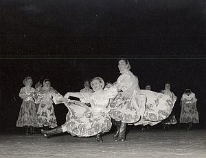 Moscou Beriezka Ballets Dance Old Lipnitzki Photo 1960