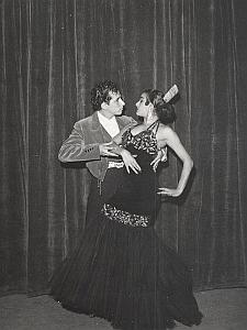 Gypsies Ballets Dance France Old Lipnitzki Photo 1960