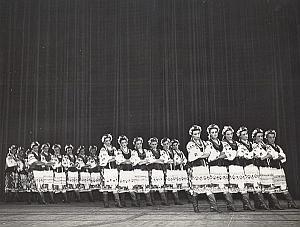 Russian Ballet Mossoiev Dance Old Lipnitzki Photo 1960