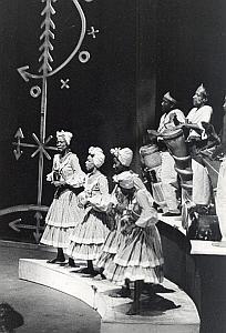 Cuba Ballet Dance France Old Photo Pic 1964