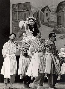 Madagascar Ballet Dance Old Photo Pic 1960