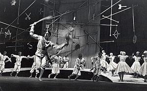 Cuba Ballet Folk Dance France Old Photo Pic 1960