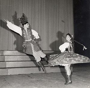 Polish Ballet Folk Dance Photo Lipnitzki 1960