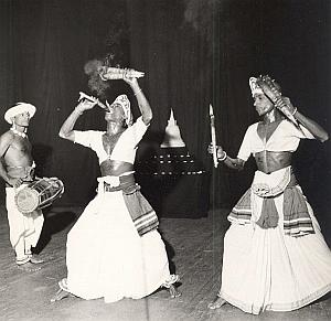 Ceylon Ballet Folk Dance Photo Lipnitzki 1960