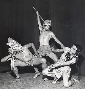Peruvian Ballet Folk Dance Photo Lipnitzki 1960