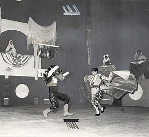 Spanish Flamenco Ballet Folk Dance Antonio a l'Alhambra Photo Lipnitzki 1960