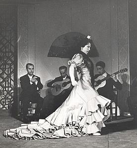 Spanish Flamenco Ballet Folk Dance Zambra Photo Lipnitzki 1960