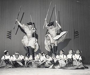 Hungary Ballet Folk Dance Photo Lipnitzki 1960