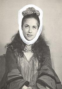 Espanita Cortez Dancer Actress Photo Lipnitzki 1960