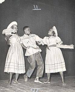 Haiti Voodoo Folk Dance Photo Lipnitzki 1960