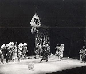 Inbal Ballet Israel Folklore Dance Photo Lipnitzki 1960
