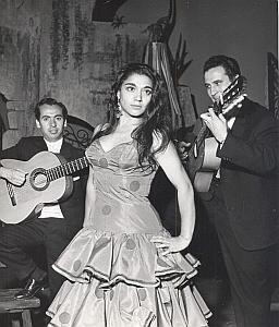 Jose Greco Ballet Folk Dance Photo Lipnitzki 1960