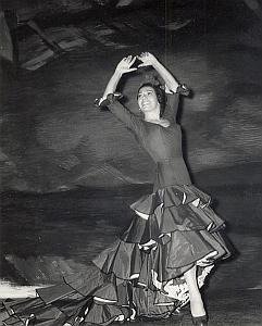 Dancer Ballet Folk Dance Photo Lipnitzki 1960