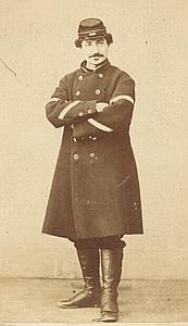 Soldier Second Empire Army France Old CDV Photo 1865