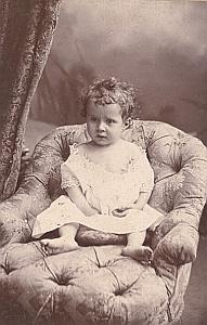 Young Baby Toys Fashion France Old Photo 1900