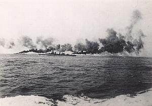 WWII Battleship Battle of Dakar Photo September 1940