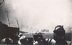 WWII Battleship Battle of Dakar Photo September 1940