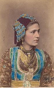 Ethnic Fashion Austro-Hungarian Empire CDV Photo 1870