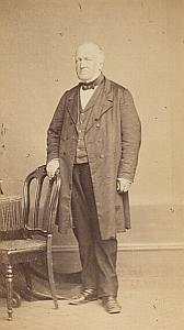 Pasteur Adolphe Bauty Lausanne Protestantisme Ancienne CDV Photo Autographe 1860