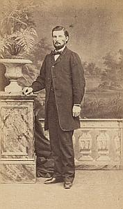 Constancon Taylor Lausanne Protestantisme Ancienne CDV Photo Autographe 1860