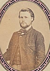 Pasteur Aquilas Barnaud Lausanne Protestantisme Ancienne CDV Photo Autographe 1860