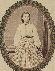 Laurence Chappuis Lausanne Protestantisme Ancienne CDV Photo Autographe 1860