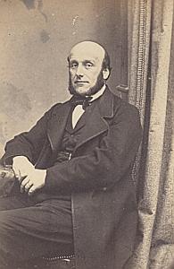 L. Favrod ? Lausanne Protestantisme Ancienne CDV Photo Autographe 1860