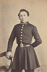 Paul de Felice Lausanne Protestantisme Ancienne CDV Photo Autographe 1860
