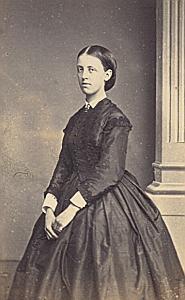 Nathalie de Meijerhelm Lausanne Protestantisme Ancienne CDV Photo Autographe 1860