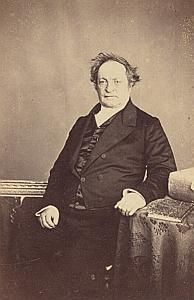 Alexandre Jean Paul Gaussen Genève Protestantisme Ancienne CDV Photo Autographe 1860