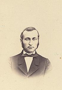 Alfred Audouin Genève Protestantisme Ancienne CDV Photo Autographe 1860